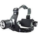 Налобный аккумуляторный фонарь фонарик Police Bailong BL-2199 T6 диод ave, фото 3