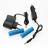 Налобный аккумуляторный фонарь фонарик Police Bailong BL-2199 T6 диод ave, фото 4