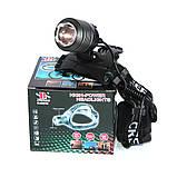 Налобный аккумуляторный фонарь фонарик Police Bailong BL-2199 T6 диод ave, фото 9