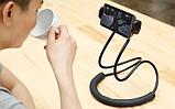 Держатель для телефона на шею 360 градусов вращения гибкий селфи ave, фото 3