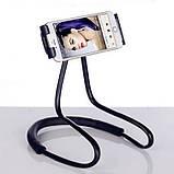 Держатель для телефона на шею 360 градусов вращения гибкий селфи ave, фото 5