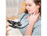 Держатель для телефона на шею 360 градусов вращения гибкий селфи ave, фото 7