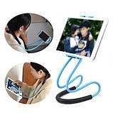 Держатель для телефона на шею 360 градусов вращения гибкий селфи ave, фото 8