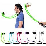 Держатель для телефона на шею 360 градусов вращения гибкий селфи ave, фото 9
