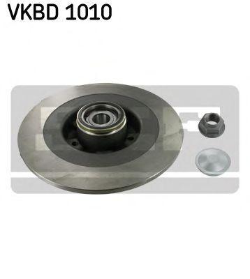 Диск тормозной с подшипником в сборе SKF VKBD1010