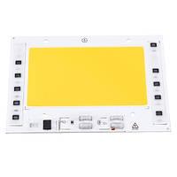 Светодиодная матрица с драйвером COB LED 100Вт 9500лм 220В, тепл. белая