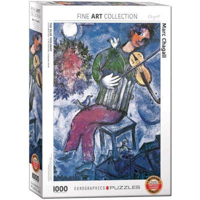 Пазл EuroGraphics Синий скрипач. Марк Шагал, 1000 элементов (6000-0852)
