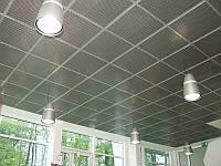 Потолок подвесной, система Т-24, металлик, Германия