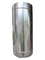 Труба дымоходная 0,5м Ф180/250 нерж/оц 0,8мм