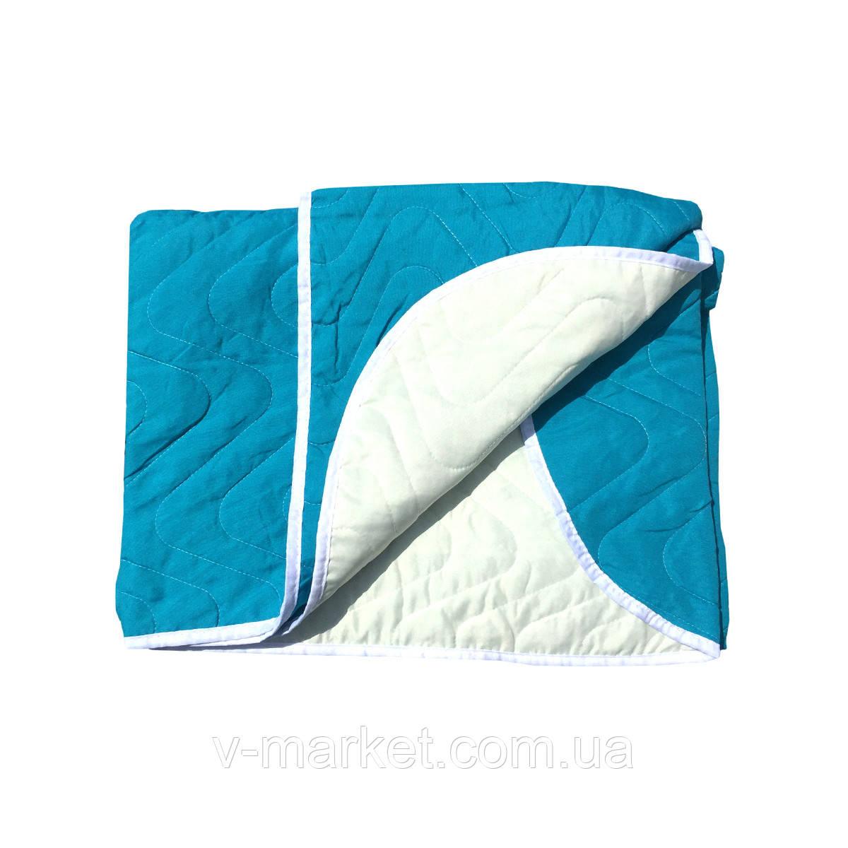 """Летнее одеяло покрывало """"Однотонное"""" евро размер, 195/205"""