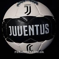 Мяч Клубный ЮВЕНТУС №5, Полиуретан, машинный шов, ламинированный