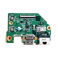 Toshiba Satellite L50-C P50-C C55-C P50D C55D плата 1xUSB, LAN ethernet (DA0BLTPC6D0) бу