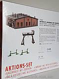 Faller 190069 Стартовый сет паровозного локомотивного депо I эпохи, масштаба 1/87, H0, фото 2