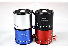 Колонка Мини портативная WSTER WS-A8 с MP3, USB и FM-pадио ave