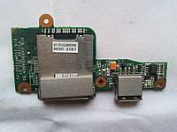 Fujitsu siemens amilo Pi 2530 2540 2550 Плата USB, кардридер (35gmp5500-10 , 35GMP5500-C0) бу