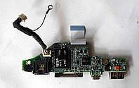 Fujitsu A1667G M1437G M1439G Плата LAN, USB, Кардридер, firewire (35g3p5000-20) бу