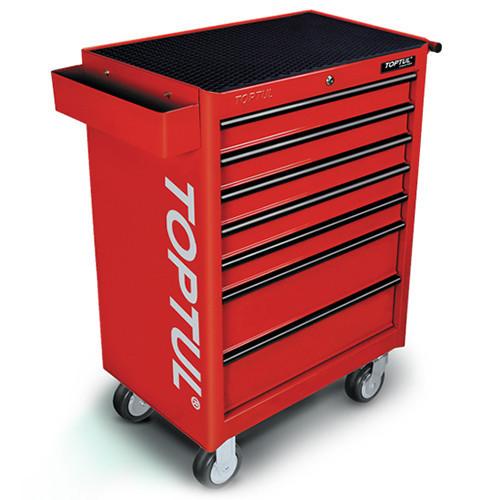 Візок з інструментом TOPTUL 7 секцій 227 од. червона GCAJ0018