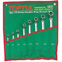 Набор накидных ключей TOPTUL 6-22мм (угол 75°) 8ед. GAAA0810