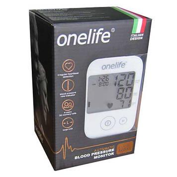 Тонометр Onelife L-1 ECO автоматический с манжетой Белый (917764320)