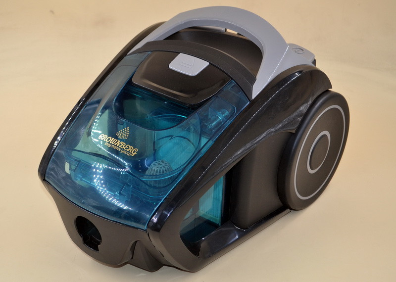 Мощный Контейнерный пылесос Crownberg CB0113 2600Вт Пылесос циклонный с регулировкой мощности Лучшая цена! ave