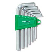 Набор ключей шестигранных Г-обр. TOPTUL 2,5-10мм 7ед. GAAL0701