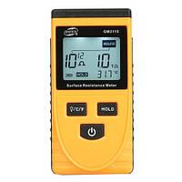 Тестер для измерения сопротивления поверхности (1kΩ ~1000ГΩ) BENETECH GM3110