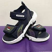 Босоножки сандали спортивные для мальчиков на липучках