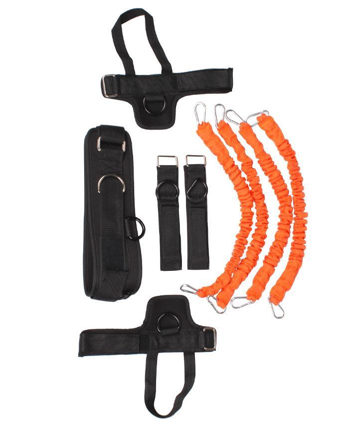 Набор для тренировок LiveUp Training Kit Black-Orange (LS3664)