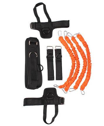 Набор для тренировок LiveUp Training Kit Black-Orange (LS3664), фото 2