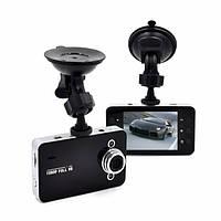 Автомобильный видеорегистратор Vehicle Blackbox DVR K6000 регистратор в авто Full HD 1080p Черный