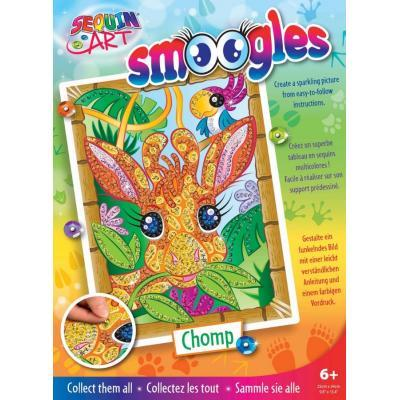 Набор для творчества Sequin Art SMOOGLES Жираф (SA1822)