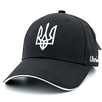 Кепка Герб України M501 Бейсболка Черная