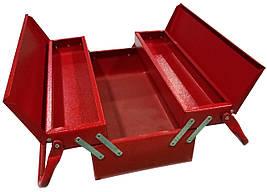 Металлический инструментальный ящик 330мм 3 отсека (Харьков) ЯЩ330-3