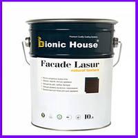 Facade Lasur. Краска для дерева на основе льняного масла, фасадная лессирующая краска лазурь на льняной основе