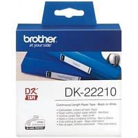 Этикет-лента Brother для принтера QL-1060N/QL-570QL-800 (29mm x 30.48M) (DK22210)