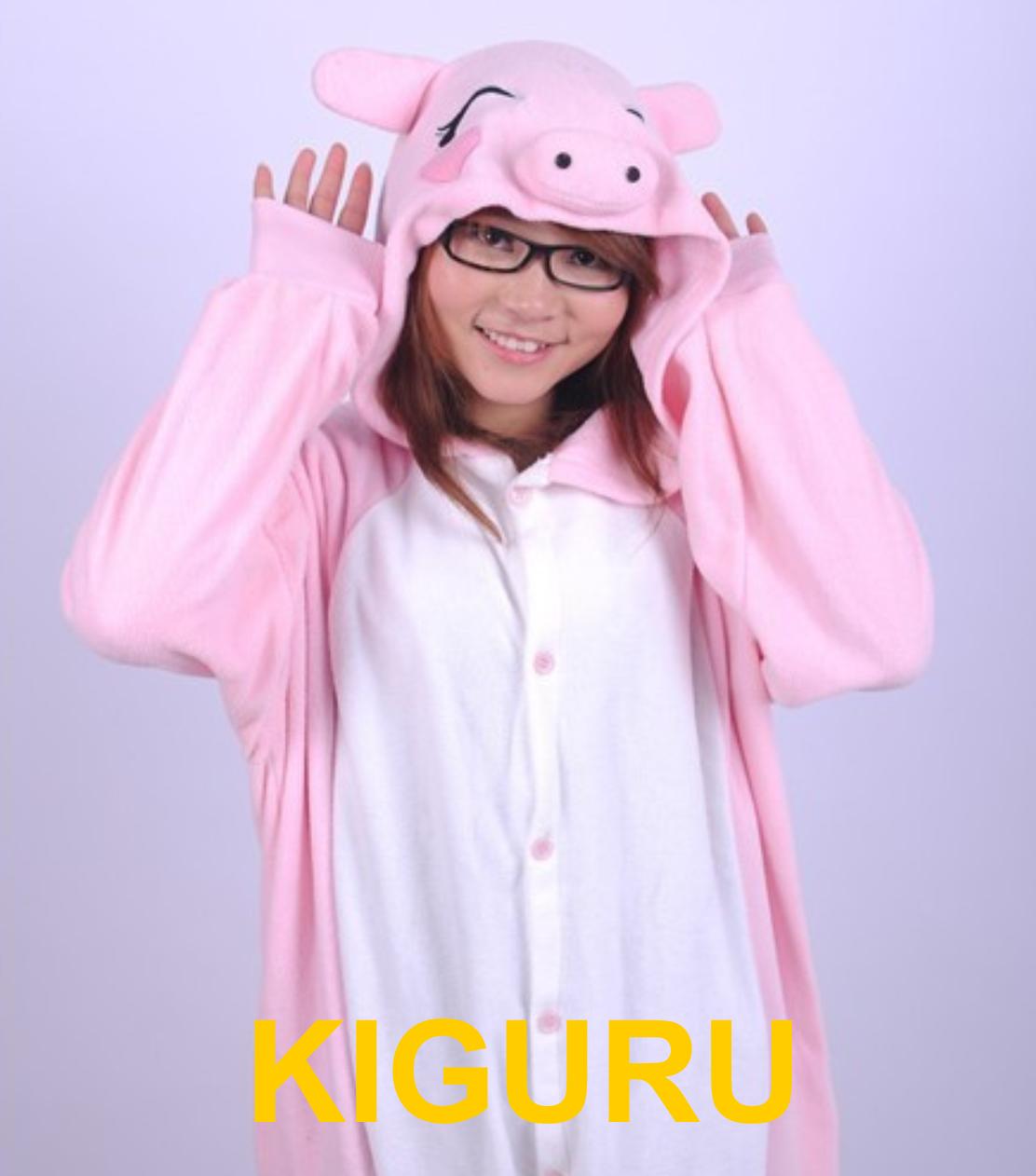 Кигуруми свинка пижама