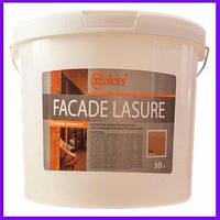 Facade Lasure 32Color, фарба для дерева, сонцезахисна, акрилова лазур, антисептик, краска для дерева, 0.8 л