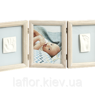 Рамка для фото Baby Art Double Print Frame винтаж, фото 2