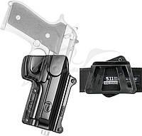 Кобура Fobus для Beretta 92F/96 поворотная с креплением на ремень
