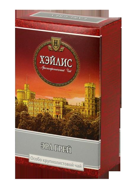 Чай Крупнолистовий Чорний Ерл Грей 100 гр. Hyleys