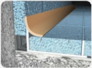 Внутренний латунный уголок для плитки Pawotex 10 мм 2.5 м MNW10