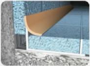 Внутренний латунный профиль ВЛП для плитки