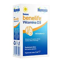 Humana benelife Vitamin D3 для детей, 5 мл