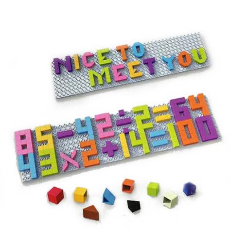 Детская мозаика 5993-4 буквы (англ.)/цифры, фото 2