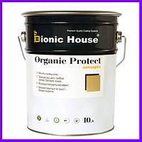 Organic Protect. Антисептик для дерева, маслянистий антисептик, пропитка для дерева, 1 л 10
