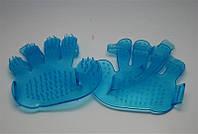 Перчатка - щетка масажная для волос, YRE