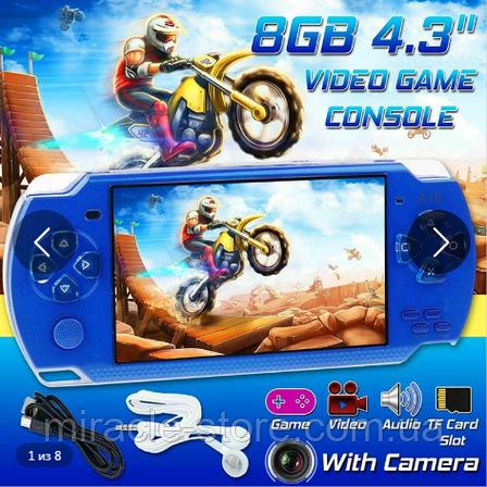 Дитяча ігрова приставка PSP X6 російська версія, фото 2