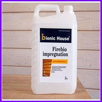 Firebio impregnation. Вогнебіозахист, пропитка для дерева, антипірен для дерева, вогнебіозахисна обробка, 5 л