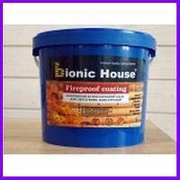 Fireproof coating. Вогнезахисна фарба, пропитка для дерева, антипірен для дерева, вогнезахисна обробка, 5 кг