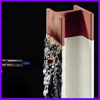 Fireproof metal. Вогнезахисна фарба для металу, терморозширяюча, огнезащитная краска для метала